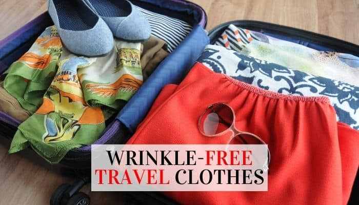 Wrinkle-Free Travel Clothes
