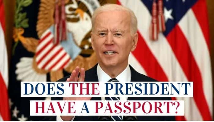 Does The US President Have A Passport
