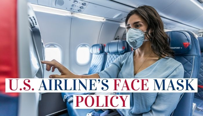 U.S. Airline's Face Mask Policy