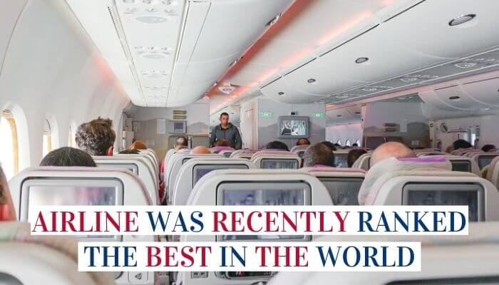 Airline Was Recently Ranked The Best In The World Image