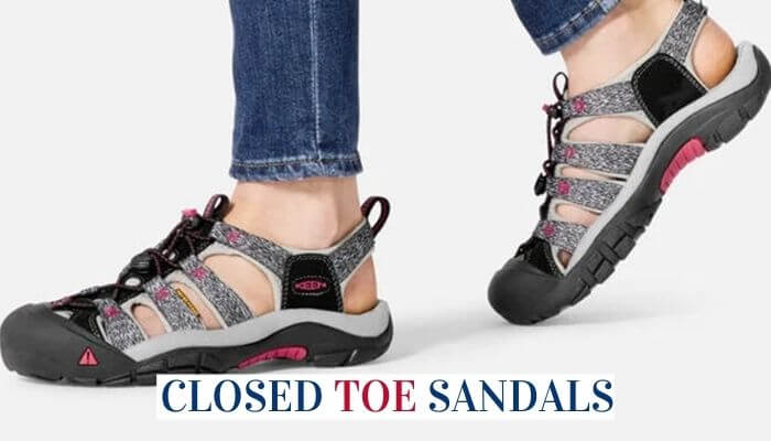 Closed Toe Sandals For Women And Men