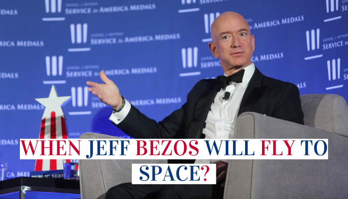Jeff Bezos Will Fly To Space
