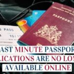 Last Minute Passport Applications Are No Longer Available Online Image