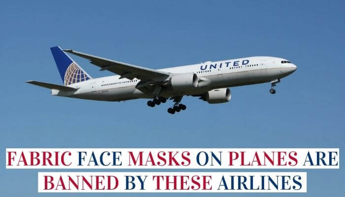Fabric Face Masks On Planes Are Banned By These Airlines image