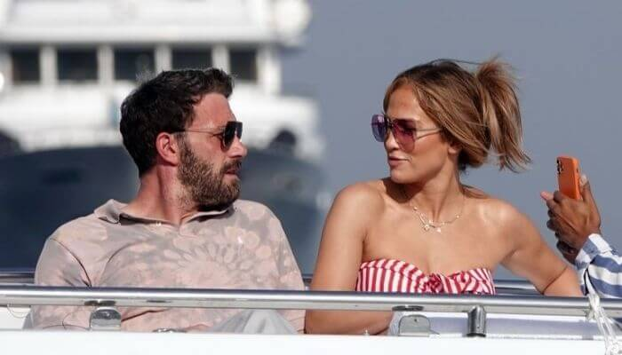 Jennifer Lopez And Ben Affleck Seen In Italy Image