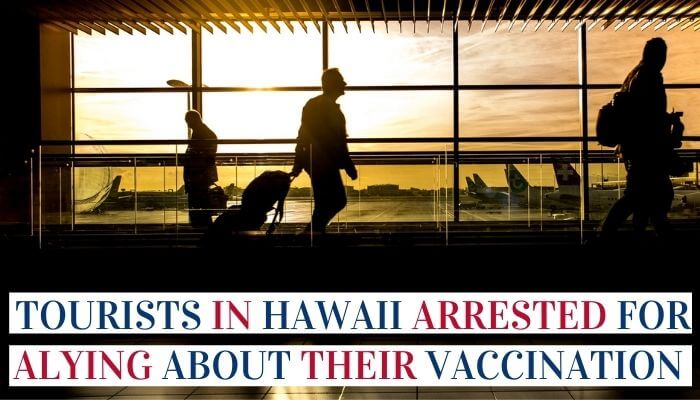 Tourists In Hawaii Arrested Image