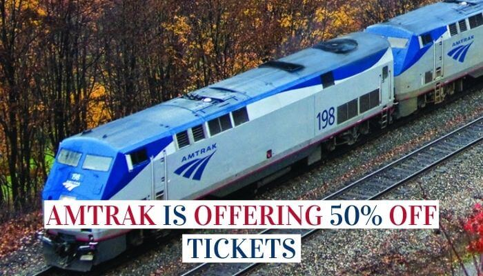Amtrak Is Offering 50% Off Tickets Image