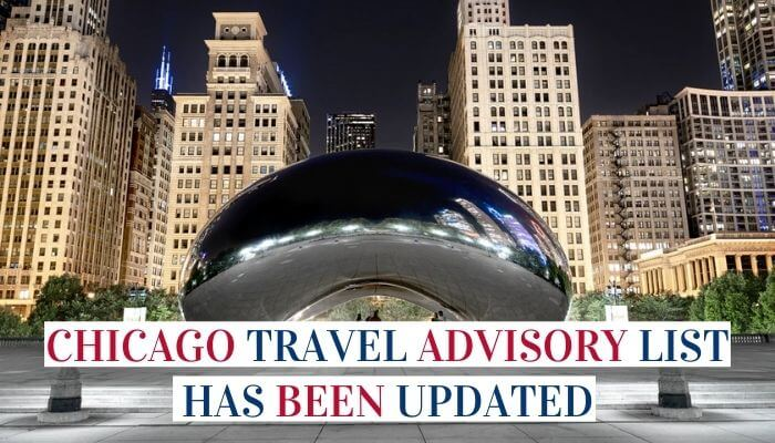 Chicago Travel Advisory List Has Been Updated image