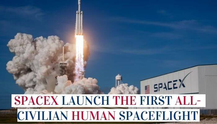 SpaceX Launch The First All-Civilian Human Spaceflight image