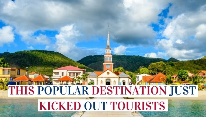 This Popular Destination Just Kicked Out Tourists Image
