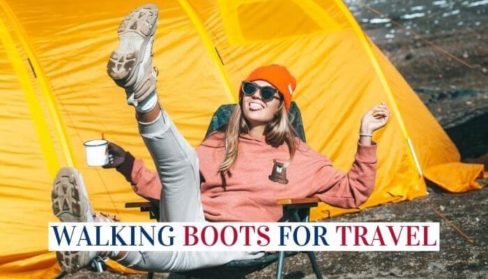 Comfortable Walking Boots For Travel Image